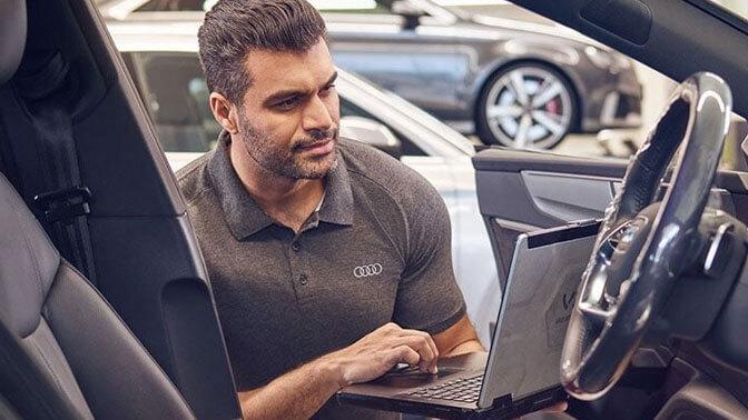 احجز خدمة Audi