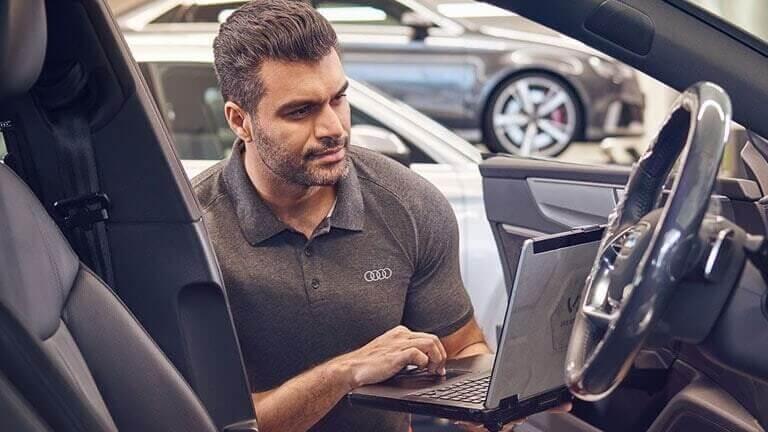 عملاء Audi وخدمة ما بعد البيع